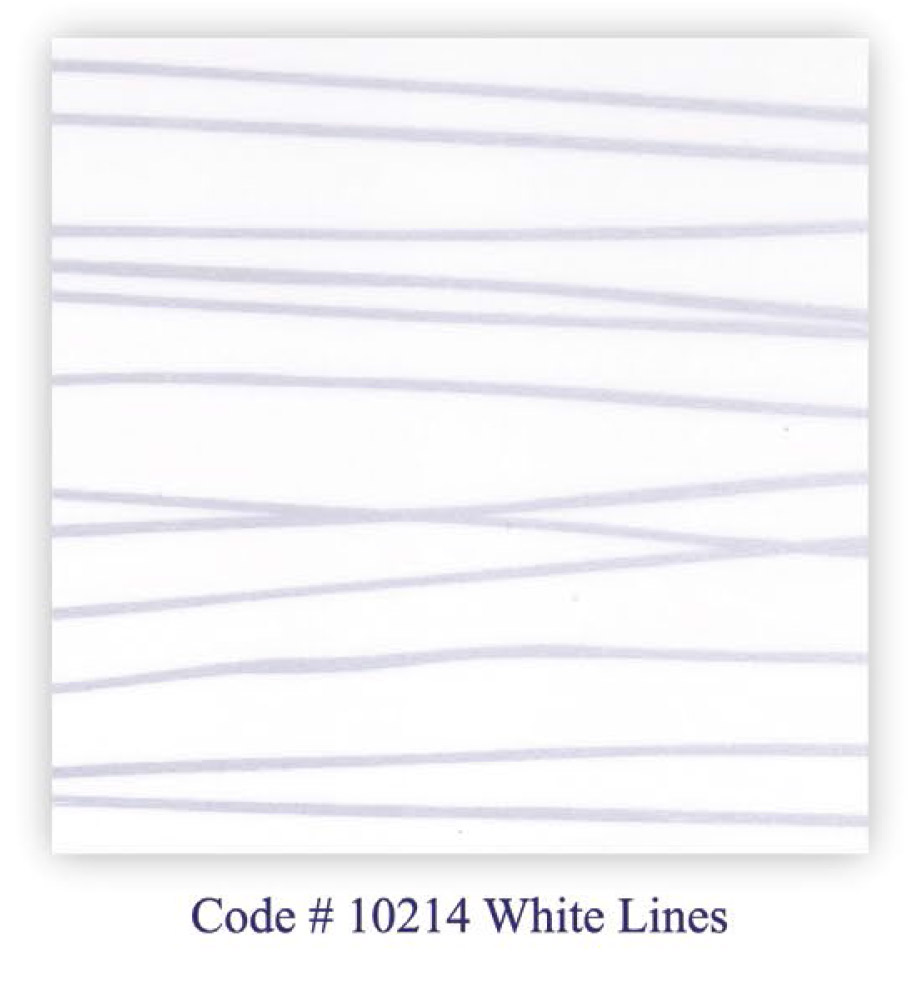 Code # 10214 White Lines