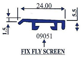 Fix Fly Screen